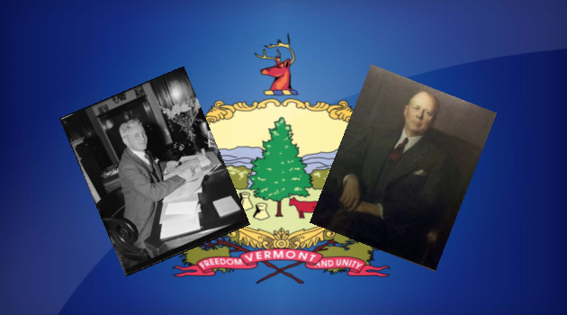 Vermont Republicans Ernest Gibson Jr. and Mortimer Proctor squared off in the 1946 election.