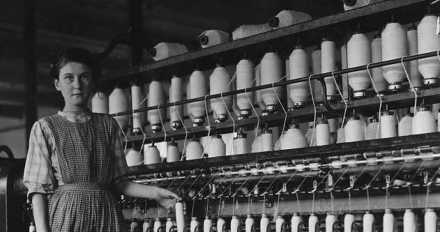 Mill Girl in Winchendon, Mass.
